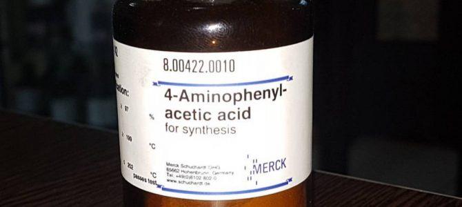 ۴آمینوفنیل استیک اسید